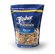 Fisher Nuts, Resealable Bag